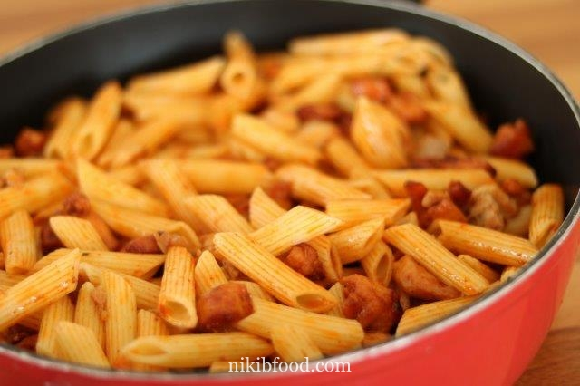 Chicken Breast with Pasta Recipe