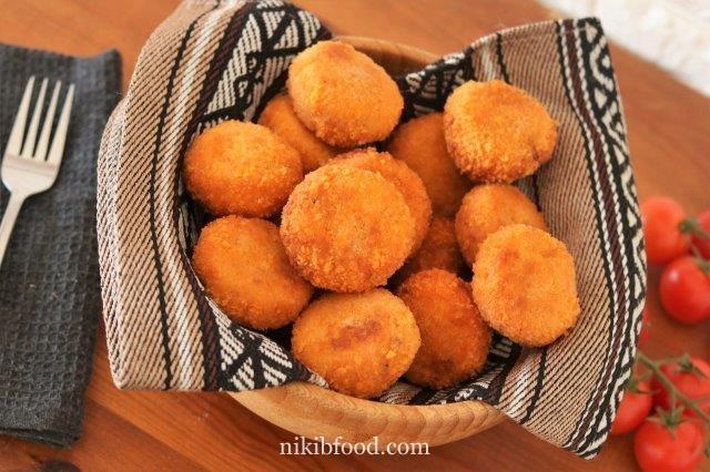 Schnitzel balls