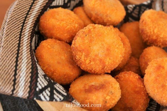 Schnitzel balls / Photo : nikib