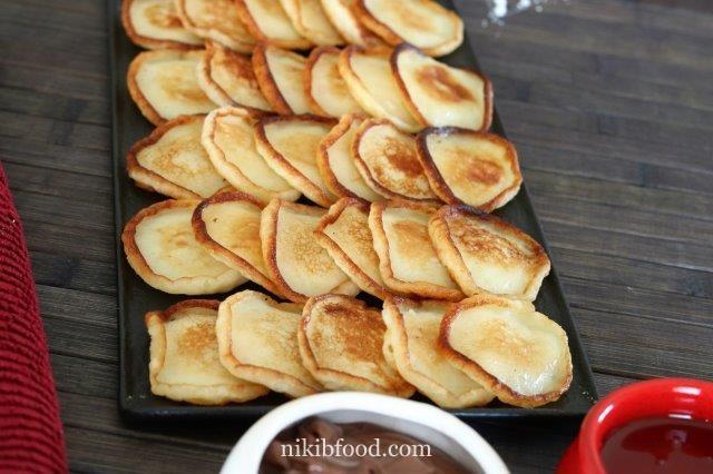 Easy mini pancakes