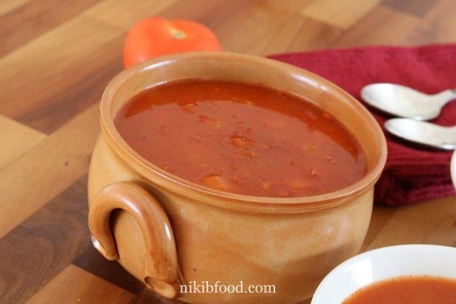 Tomato And Pearl Barley Soup