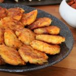 Classic potato and Sweet-Potato Latkes