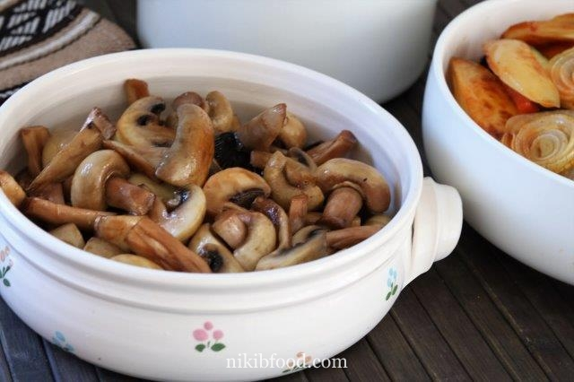 Stir fry mushrooms recipe