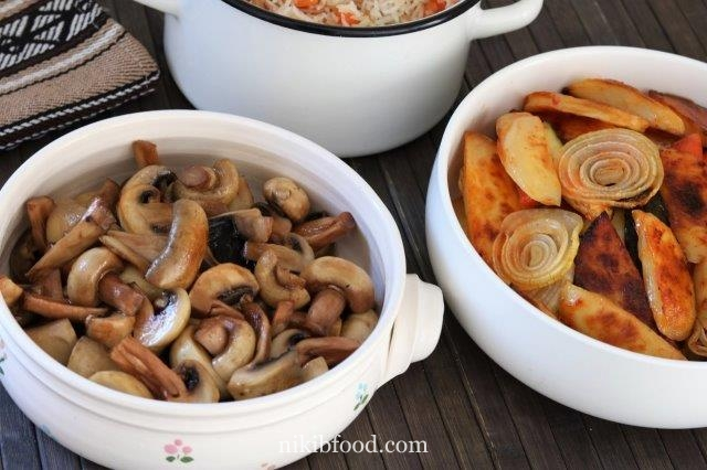Stir fry mushrooms recipe