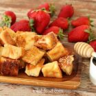 French Toast with Cinnamon Sugar