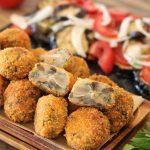 Baked Mushroom Falafel