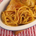 Chicken with Spaghetti