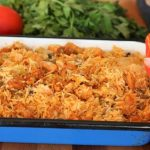Baked chicken thigh and rice recipe