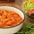 Chicken Breast Chunks in an Amazing Pepper Sauce