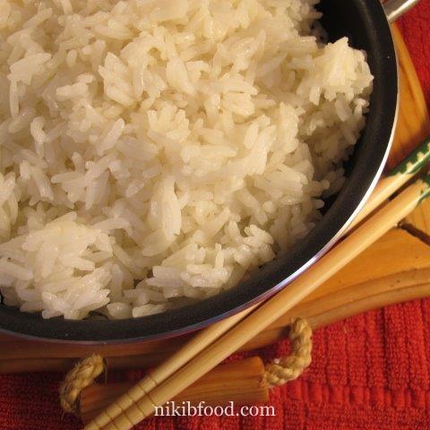 how to prepare white rice / Photo : nikib