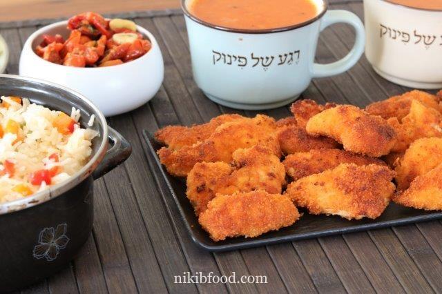 Chicken tender schnitzel