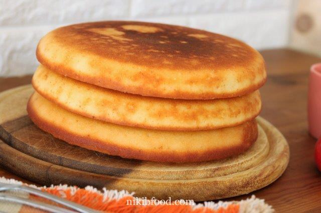 Quick oven pancake