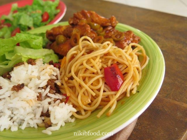 Weekday lunch, or maybe Friday night dinner