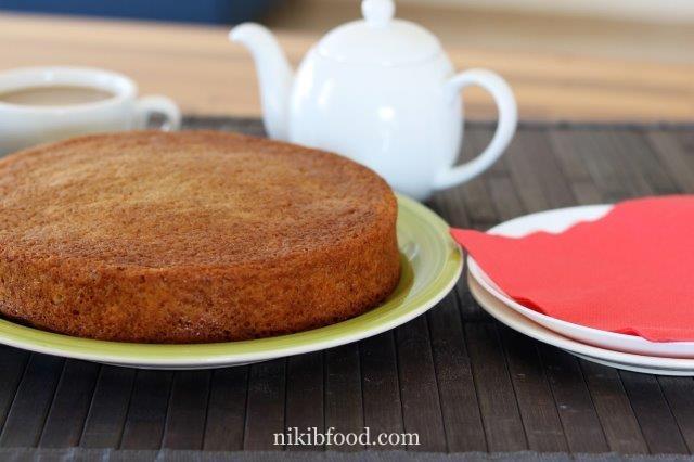 Carrot and cinnamon cake