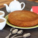 Carrot and cinnamon cake