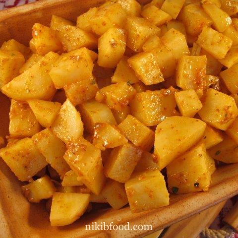 Crispy Potatoes in the Oven