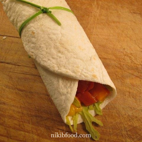 tortilla with vegetables recipe