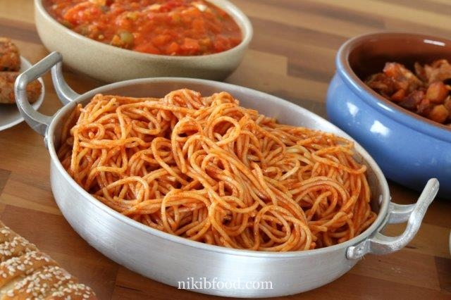 Kid friendly spaghetti sauce