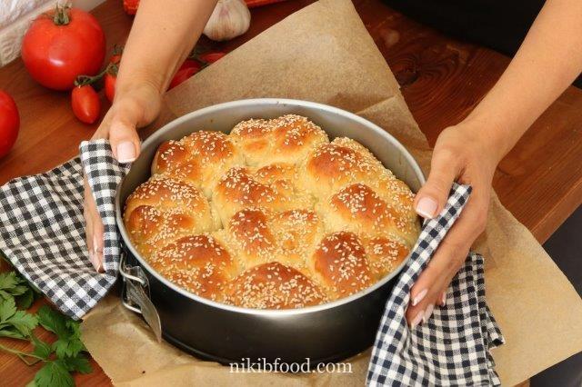 Soft challah bread recipe / Photo : nikib
