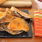 Crispy Baked Eggplant Schnitzel