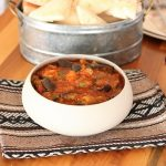 Moroccan Zaalouk – Cooked Eggplant & Tomato Salad