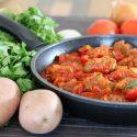 Meatballs with tomato sauce