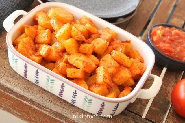 Fast potatoes recipe