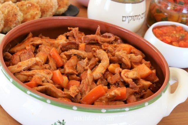 Jerusalem Mix with Potatoes and Veggies