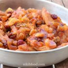 Chicken breast with dried fruit