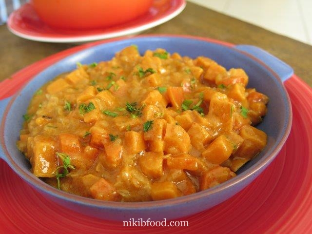 Lentils vegetables recipe