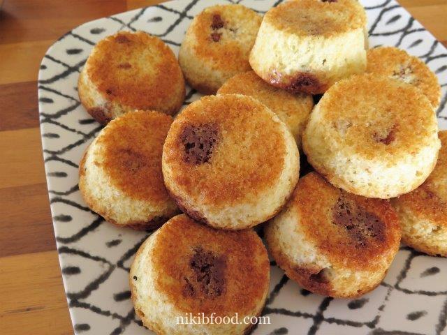 Marbled muffins recipe