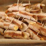Quick-Fix Cheesy Olive Rollups