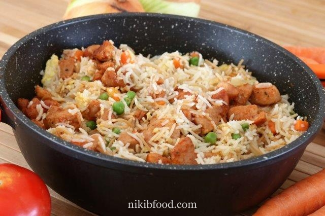 Chinese style chicken and rice