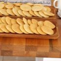 Tahini and chocolate chip cookies