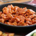 Stir fried chicken breast