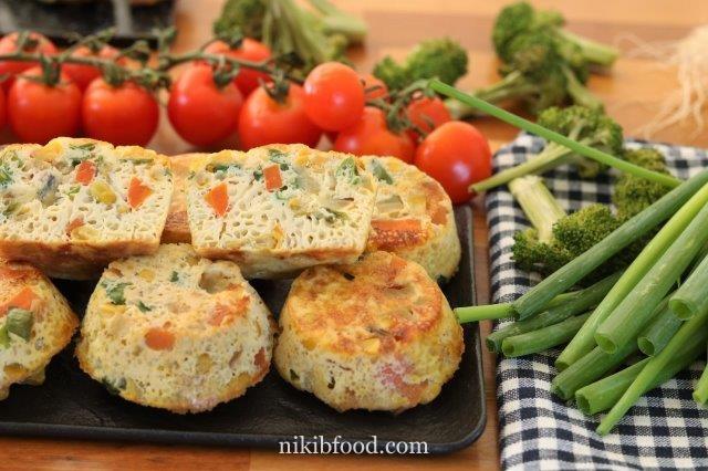 Grain-Free Veggie Muffins