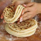 Pan bread with gluten free flour