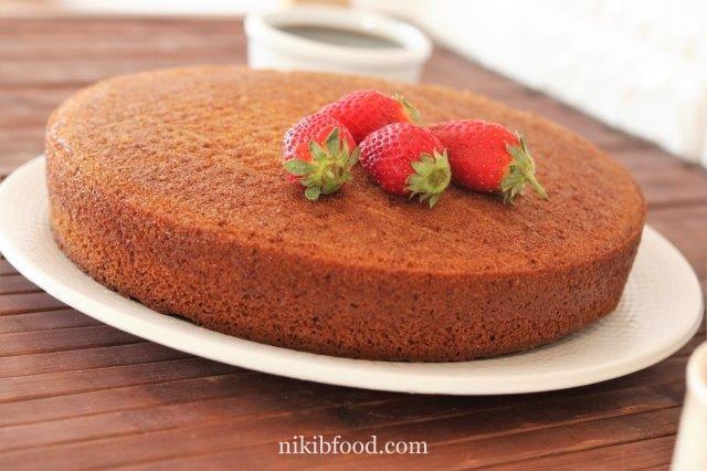 Moist Maple Cake