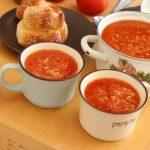 Tomato Rice Soup (Oil-Free)