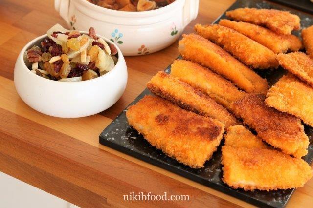 Fish schnitzel