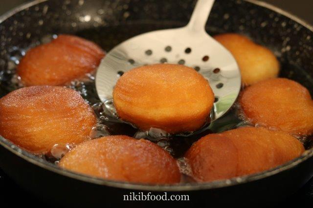 Quick Sufganiyot Recipe