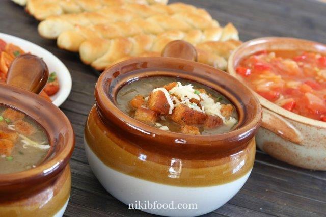 Ounion soup