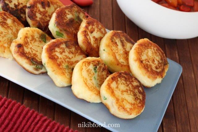 Mashed Potato Fritters