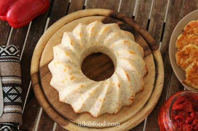 Israeli Couscous and Corn casserole