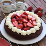 Chocolate cake with gluten free flour