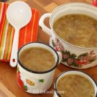 Onion mushroom soup recipe