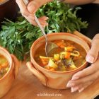 Pea and carrot soup recipe