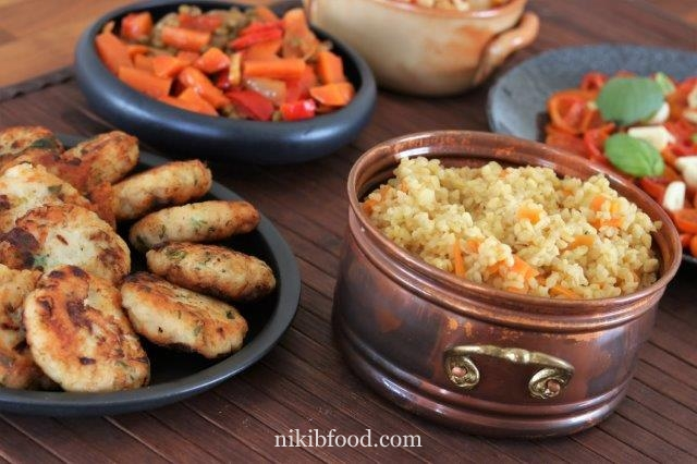 Bulgur with carrots