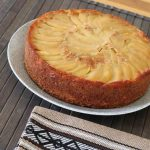 Upside-Down Apple and Honey Cake