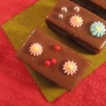 Chocolate cake fingers